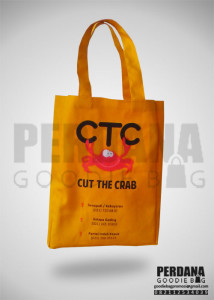 Tas Promosi Jakarta Dengan Bahan Kanvas