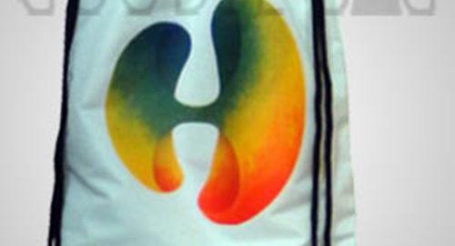 sablon tas murah gradasi warna