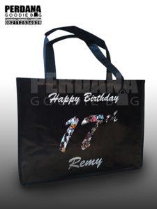 Jual Goodie Bag Ultah Printing