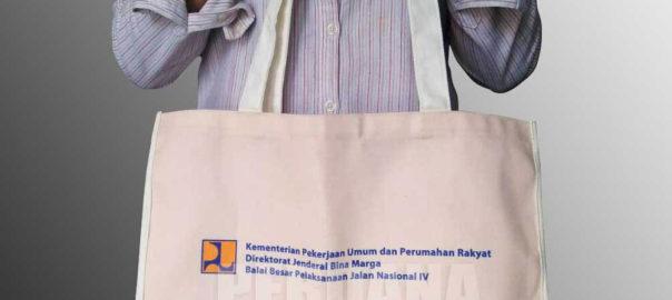 tote bag kanvas PU by Perdana
