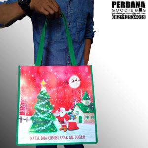 pembuatan goodie bag printing untuk natal