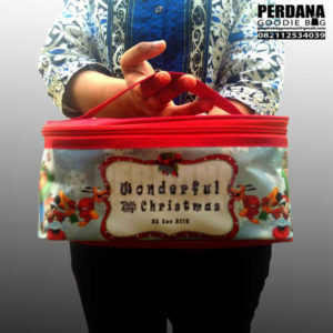 goodie bag natal murah model lunch box custom