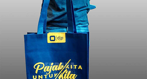 harga goodie bag sablon spunbond by perdana