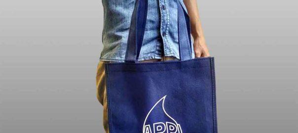 tas furing sablon 1 warna murah meriah dari perdana goodie bag