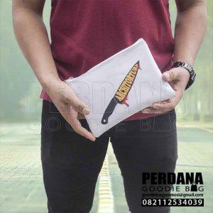 Dompet Pouch Untuk Hp Bahan D300 di Petukangan Q3780