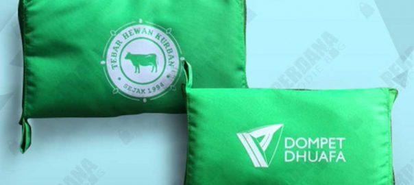 contoh tas lipat custom dompet by Perdana
