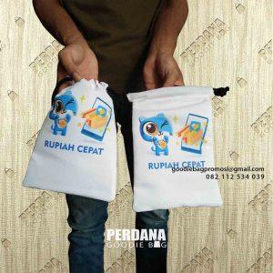 Tas Souvenir Pouch Serut Bahan Taslan Kirim Kalisari Pasar Rebo Jakarta Timur id6848p