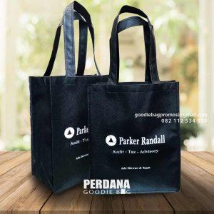 Cetak Goodie Bag Desain Sablon Menara Palma Kuningan Setiabudi Jakarta Id8385P