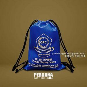 Jual Goodie Bag Serut Desain Sablon S Parman Bukit Layang Mangsang Sei Beduk Batam Id8728P