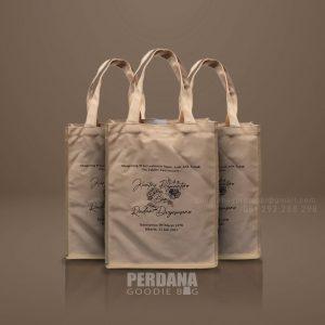 Tas Goodie Bag Kanvas Desain Sablon Widya Chandra Senayan Kebayoran Baru Id8771P