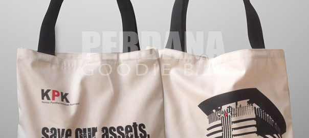 Goodie Bag Unik Bahan Drill