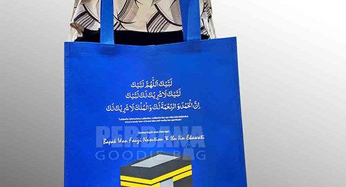 sablon tas spunbond murah untuk souvenir