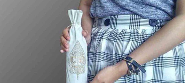souvenir pernikahan murah bahan blacu dari perdana goodie bag