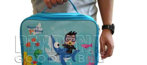 lunch box anak bahan dinier kombinasi printing by Perdana